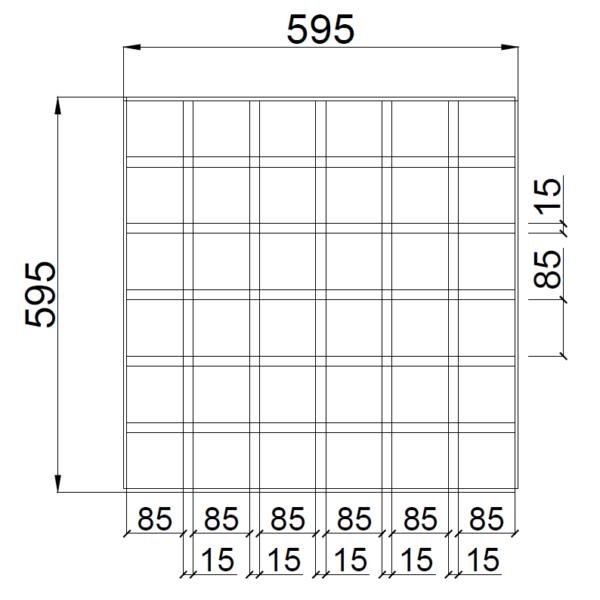 GL15 100x100 griliato